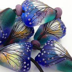 SET : FULL MOON. I think they look like butterfly wings. So lovely!