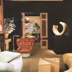 Elda chair in 1970s William Gaylord interior