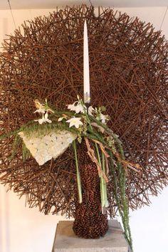 Arr. Daniel Santamaria Christmas Home, Xmas, 1 Advent, Workshop, Arte Floral, Ikebana, My Flower, Floral Design, Art Design