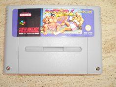 SNES Cartridge. Super Nintendo, Street Fighter