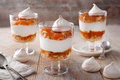 Rákóczi túrós pohárdesszert Pudding, Food, Recipes, Puddings, Meals, Yemek, Avocado Pudding, Eten