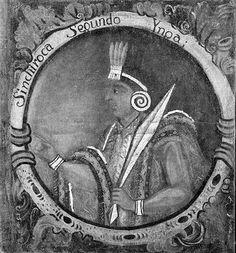 Brooklyn Museum - Sinchi Roca, Second Inca, 1 of 14 Portraits of Inca Kings - overall.