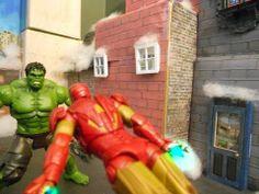 Hulk Vs the Avengers Stop Motion Fight - YouTube