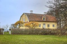 Old priest house from 1800th century
