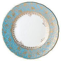 Bernardaud Eden Turquoise <3 Our formal China...seriously I fall in love every time we do a formal dinner