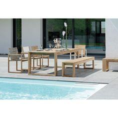 Max Tisch Kufentisch Stern Gartenmöbel 220x100 Cm