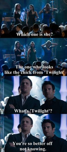i so agree with him. never seen twilight and proud about it! LOL