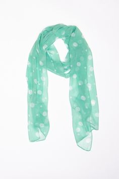 perfect spring scarf. #mint
