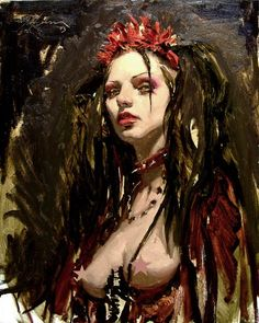 Alla Prima painting by Michael Hussar