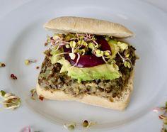 Pulled Pork, Hamburger, Sandwiches, Vegan, Ethnic Recipes, Food, Balsamic Vinegar, Apples, Seasonal Recipe
