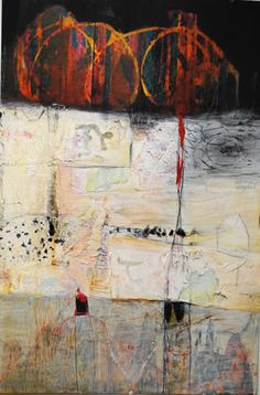 Donne Bitner, Sacred Spaces, Mixed Media, 30 x 20