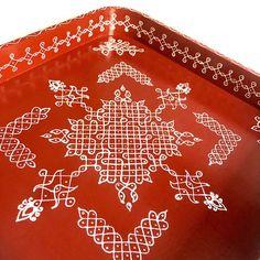 Rangoli Borders, Rangoli Border Designs, Rangoli Designs With Dots, Rangoli Designs Images, Kolam Rangoli, Rangoli With Dots, Beautiful Rangoli Designs, Glass Painting Designs, Paint Designs