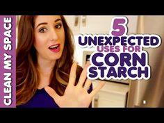 10 Unexpected Uses for Corn Starch! - Clean My Space