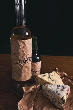 Sauternes and Port + Stilton or Roquefort