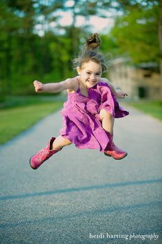 Jumping for Joy ~ Cute Child ~