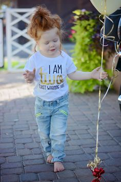shop: I am Two Just Warning You - 2 Birthday Shirt - Birthday Girl - Birthday Shirt - Two Year Old - Birthday Gift - Birthday Outfit Excited to share the latest addition to my 2 Year Old Birthday Party Girl, 2nd Birthday Party For Girl, 2nd Birthday Outfit, Second Birthday Ideas, 2nd Birthday Shirt, Girl Birthday Themes, Frozen Birthday, 2nd Birthday Gifts, Birthday Nails