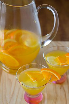 White Sangria. Perfect for summer!