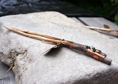 Hand made Knitting needles, Hickory, size 3 Wooden Knitting Needles, Hickory Wood, Hand Carved, Glass Beads, Carving, Handmade, Beautiful, Etsy, Hand Made