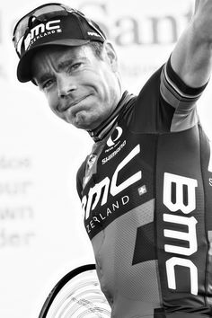 The Big Finalé - Cadel showing some emotion exiting the stage after his last WorldTour race!