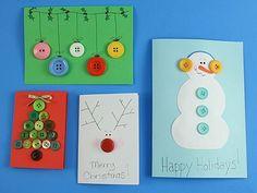 Na busca por um cartão de Natal diferente e criativo, que tal customizar o seu? Veja ideias impressionantes! - Veja mais em: http://www.vilamulher.com.br/artesanato/tendencias/cartoes-de-natal-criativos-e-artesanais-m1214-694549.html?pinterest-mat