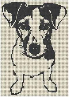 grilles jack russel et chats - xstitch - Cross Stitching, Cross Stitch Embroidery, Embroidery Patterns, Knitting Patterns, Crochet Patterns, Filet Crochet Charts, Cross Stitch Charts, Cross Stitch Patterns, Cross Stitch Animals