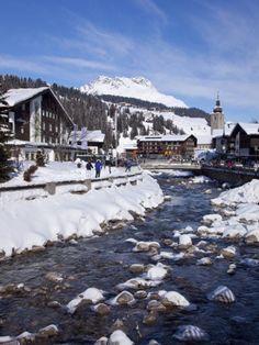Lech, Near St. Anton Am Arlberg, Austrian Alps