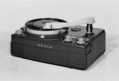 vintage Sharp record player, Japan