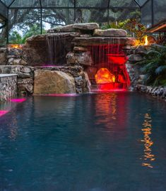 Having a pool sounds awesome especially if you are working with the best backyard pool landscaping ideas there is. How you design a proper backyard with a pool matters. Swimming Pool Lights, Luxury Swimming Pools, Natural Swimming Pools, Luxury Pools, Dream Pools, Indoor Swimming Pools, Swimming Pools Backyard, Swimming Pool Designs, Lap Pools