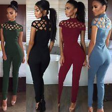 New Women Ladies Clubwear Hollow Pl...