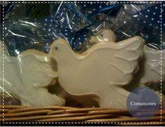 Galletas decoradas con glasé para souvenirs