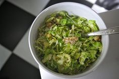 """Addictive Brussels Sprouts Salad"""