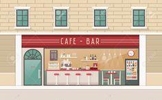「dessert shop interior design」の画像検索結果