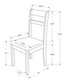 Free DIY Furniture Plans to Build a Shabby Chic Cottage Dining Chair - The Design Confidential Dinning Chairs, Dining Table Design, Solid Wood Dining Chairs, Side Chairs, Room Chairs, Bag Chairs, Lounge Chairs, Diy Furniture Plans, Woodworking Furniture
