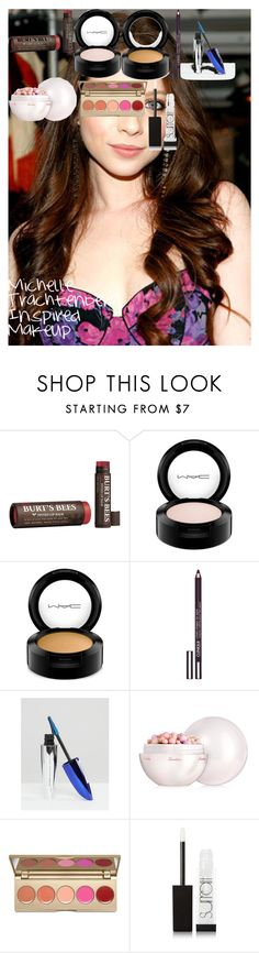 """Michelle Trachtenberg Inspired Makeup"" by oroartye-1 on Polyvore featuring beauty, Burt's Bees, MAC Cosmetics, Clinique, L'Oréal Paris, Guerlain, Stila and Surratt"