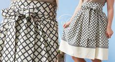 Bonjour tout le monde, Aujourd'hui je vous propose des tutos pour coudre des jupes pour le printemps et l'été, des jupes à faire soi-même avec des patrons gratuits. Voici une jolie jupe plissée à faire soi-même en recyclant une nappe Vous trouverez le...