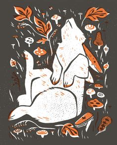 Dead Wood - Rabbit Art Print on Society6 by Pam WIshbow