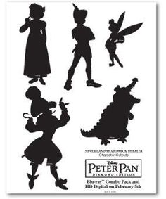 A few of the beloved (and not-so-beloved) characters from Peter Pan ;)