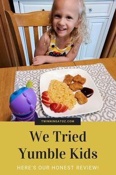 It's a challenge to ensure your toddler eats nutritious meals when their favorite foods are snacks. Toddler meals don't have to be a struggle, and parenting doesn't have to be hard. We decided to try Yumble kids meal service, and review some meals for you! Tired of searching for dinner recipes or lunch recipes? Give yourself a break and try Yumble. #recipe #dinner #dinneridea #recipes #dinnerrecipe #lunch #toddlermeal #toddlerfood #toddlerrecipe #foodreview #food #meal #yumble #easydinner #quick Toddler Friendly Meals, Toddler Meals, Kids Meals, Our Kids, Art For Kids, Lunch Recipes, Dinner Recipes, Holiday Fun, Family Holiday