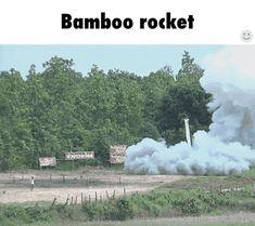 Bamboo rocket cool smoke