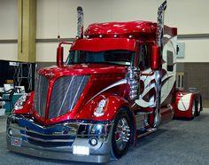 custom truck one source Big Rig Trucks, Heavy Duty Trucks, Show Trucks, Heavy Truck, Dump Trucks, Ford Trucks, Navistar International, International Harvester Truck, Custom Big Rigs