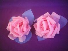 Flor de Plástico - Mais fácil de fazer que tomar doce de criança - YouTube
