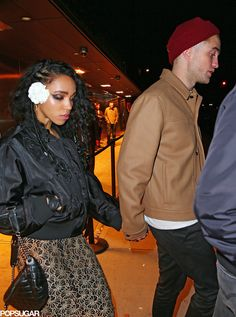Robert Pattinson and FKA Twigs at Mugler Ball | Photos | POPSUGAR Celebrity