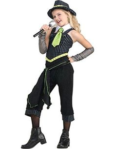 Rubies Costume Childs Gun Moll Costume One Color Large * See this great product. (Note:Amazon affiliate link)