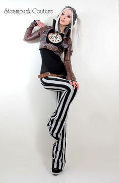 kato steampunk couture   Model: Kato - Steampunk Couture - facebook - Etsy