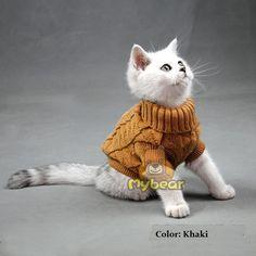 Nueva Spagetti Color caliente del invierno del otoño Cat Dog Sweater Jumper mascotas ropa del gato para pequeño gato perro mascotas en Ropa de Casa y Jardín en AliExpress.com   Alibaba Group