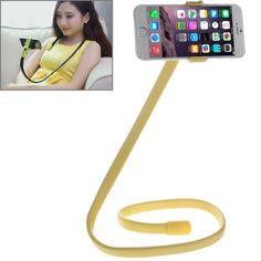 [$4.04] Flexible Clip Mount Holder with Clamping Base for iPhone 6s / 6s Plus / 6 / 6 Plus, Samsung Galaxy Note 5 / 4(Yellow)