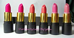 Pink Lipsticks review