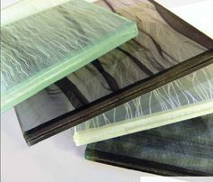TEX GLASS® : laminated glass from Siant-Gobain with fabrics or mesh - ArchiExpo