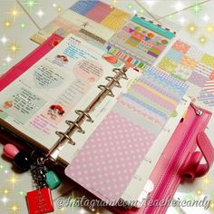 She's Eclectic: Philofaxy All Stars Guest Post: My Purpley Life's Planner Envy