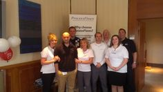 Our team, excited for our Channel Partner Golf Day!